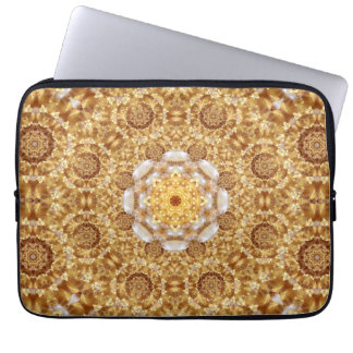 Amber Mandala Laptop Sleeve