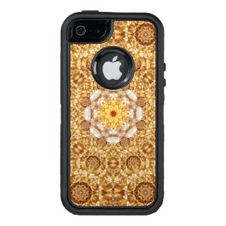 Amber Mandala OtterBox Defender iPhone Case