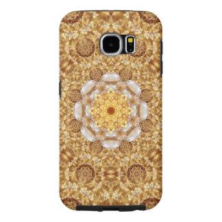 Amber Mandala Samsung Galaxy S6 Cases