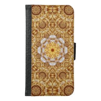 Amber Mandala Samsung Galaxy S6 Wallet Case