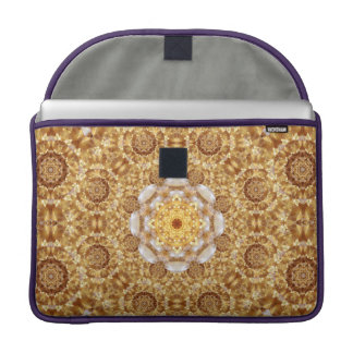 Amber Mandala Sleeve For MacBook Pro