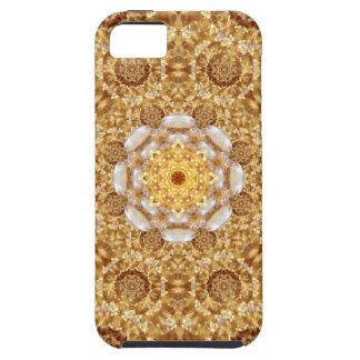 Amber Mandala Tough iPhone 5 Case