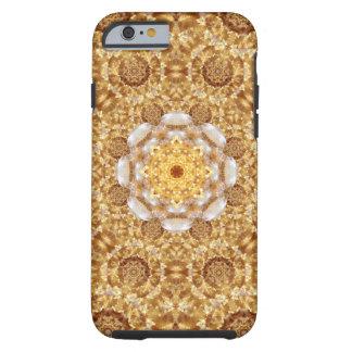 Amber Mandala Tough iPhone 6 Case
