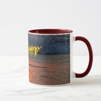 Amber mug - sunrise reflections