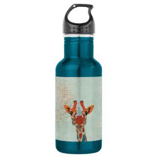 Amber Peeking Giraffe  Liberty Bottle 532 Ml Water Bottle