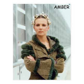Amber Postcard