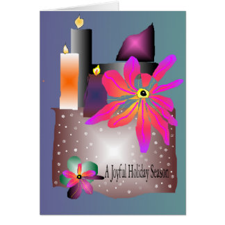 AMBER SILVERSTAR'S HOLIDAY HAPPY DAY GREETINGS CARD