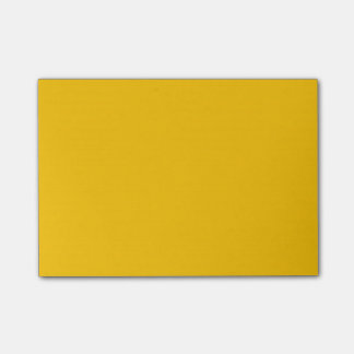 Amber Solid Color Post-it® Notes