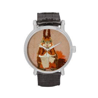 Amber Squirrel Watch