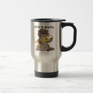 Amber Stainless Steel Travel Mug