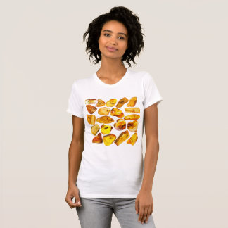 Amber stone inclusions T-Shirt