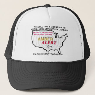 AmberAlert2010Cap-2MC Trucker Hat