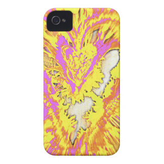 ©AmberFengShuiArt Caring Heart #2 iPhone 4 Case
