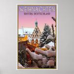 Amberg - Weihnachten Bayern Poster