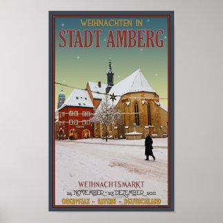 Amberg Weihnachten Church Poster