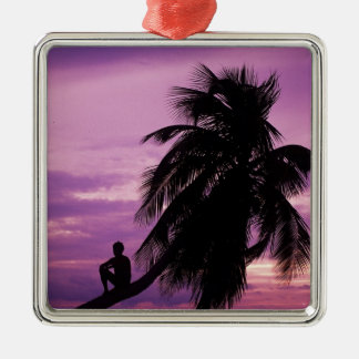 Ambergris Caye, Belize, Central America. Christmas Ornament