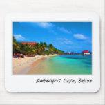 Ambergris Caye San Pedro Belise Mousepad