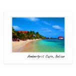Ambergris Caye San Pedro Belise Postcard
