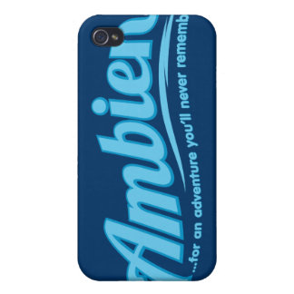 Ambien For an adventure you ll never remember iPhone 4 Cover