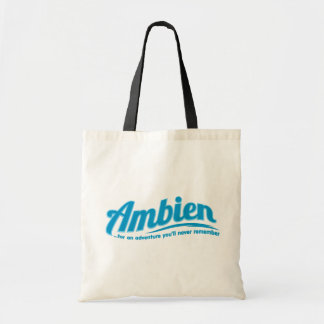 Ambien: For an adventure you'll never remember Canvas Bags