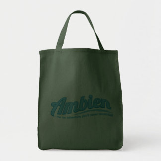 Ambien: For an adventure you'll never remember Tote Bags