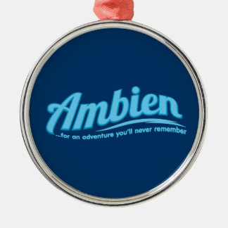 Ambien: For an adventure you'll never remember Christmas Ornaments