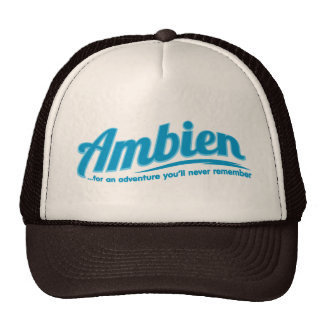 Ambien: For an adventure you'll never remember Mesh Hat