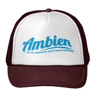 Ambien: For an adventure you'll never remember Trucker Hat