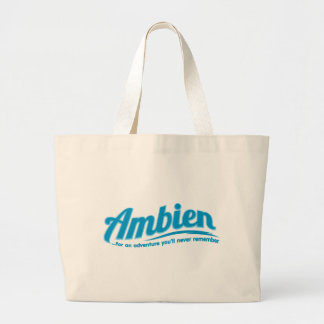 Ambien: For an adventure you'll never remember Jumbo Tote Bag