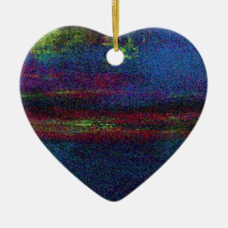 Ambience (3) ceramic heart decoration