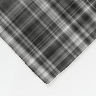 Ambient 7, Unique designer grayscale pattern Fleece Blanket