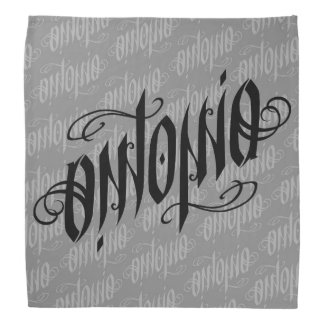 Ambigram Name - Antonia Bandana