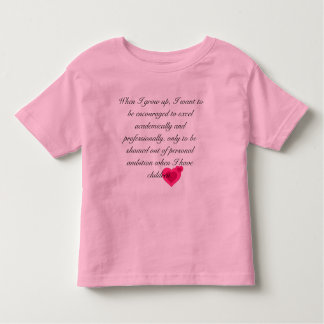 Ambition Toddler T-Shirt
