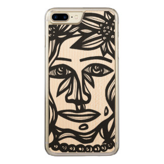 Ambitious Angelic Cool Thrilling Carved iPhone 8 Plus/7 Plus Case