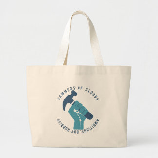 Ambitious But Rubbish Large Tote Bag