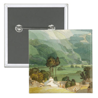 Ambleside, 1786 (w/c with pen and ink over graphit 15 cm square badge