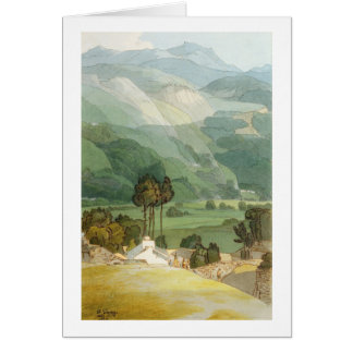 Ambleside, 1786 (w/c with pen and ink over graphit card