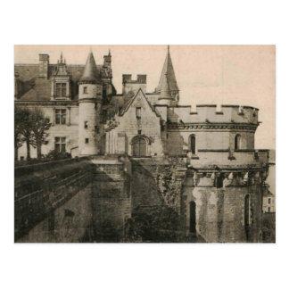 AMBOISE Royal Castle Minime Tower Replica 1922 Postcard