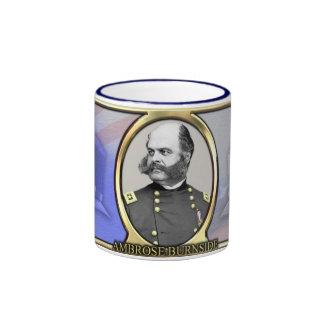 Ambrose Burnside Civil War Coffee Ringer Mug