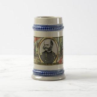 Ambrose Burnside Civil War Stein Beer Steins