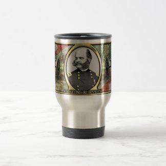 Ambrose Burnside Civil War Travel Mug