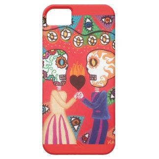 Ambrosino Art iPhone iPad Case Sugar Skull Love