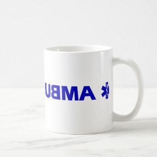 Ambulance (backward) basic white mug