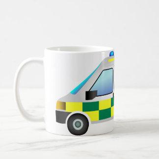 ambulance basic white mug