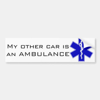 Ambulance Bumper Sticker