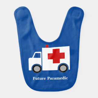 Ambulance | Future Paramedic | Personalized Bibs