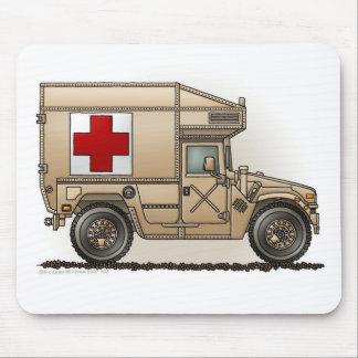 Ambulance Military Hummer Medic Mouse Mat
