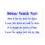 Ambulance Paramedic Prayer Business Card Template