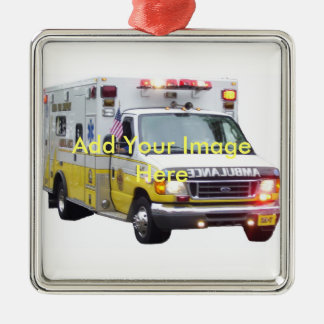 Ambulance Photo Ornament