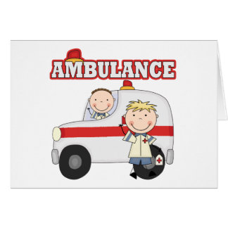 Ambulance T-shirts and Gifts Card